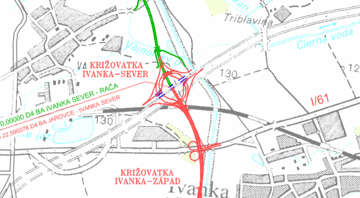 Moderny Samorin pre vsetkych R7 D4 krizovatka doprava Ivanka pri Dunaji Raca Jarovce