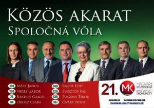 Moderny Samorin pre vsetkych kandidati SMK do parlamentu