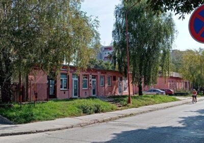 Moderny Samorin pre vsetkych bytovy dom Agora poliklinika Skolska ulica