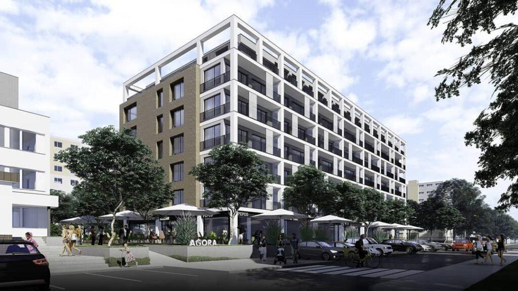 Moderny Samorin pre vsetkych bytovy dom Agora navrh vystavba