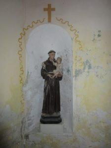 Moderny Samorin pre vsetkych kaplnka spital socha sv. Anton