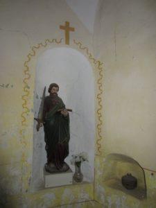 Moderny Samorin pre vsetkych kaplnka spital socha sv. Pavol