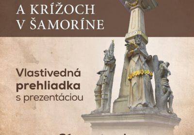 Moderny Samorin pre vsetkych O sochach a krizoch vlastivedna prehliadka Spolu tvorime kraj