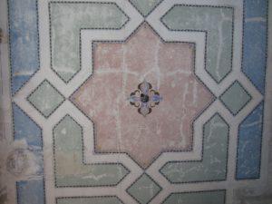 Moderny Samorin pre vsetkych synagoga Zidia stropna vyzdoba