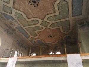 Moderny Samorin pre vsetkych synagoga stropna vyzdoba